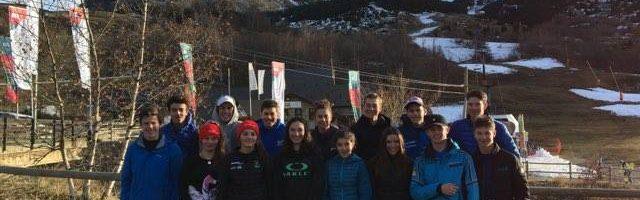 Stage Equipe Régionale Alpine