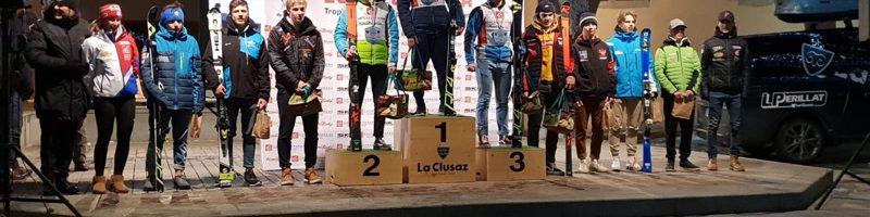 "SKI ALPIN ""Evan Iraola du SC club Font Romeu Pyrenees Catalanes 2ème du slalom du mardi 29"