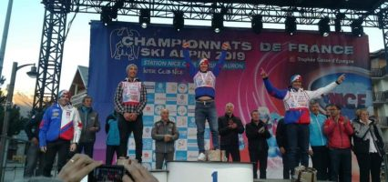Adrien Fresquet vice champion de France U21 de super g hier à Auron